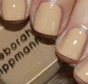 Deborah Lippmann Nail Lacquer Polish in Shifting Sands (Vanilla Almond Beige)!