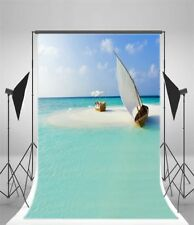 Studio Scenic Photography Backgrounds Sea View 5x7ft Vinyl Photo Backdrops Props