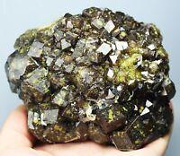 Natural Beauty Rare Andradite Garnet Crystal Mineral Specimens/China