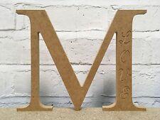 El Dia De La Madre Regalo Mdf letra m Hazlo tú mismo carta de artesanía de madera
