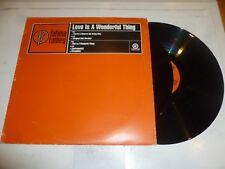 "FATIMA RAINEY - Love Is A Wonderful Thing - 1997 UK 5-track 12"" Single - DJ Prom"