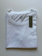 J Crew Womens Pocket T-Shirt (NWT) White, Garment Dyed, UP TO 67% OFF MSRP