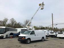 2007 Chevrolet G3500 Used Bucket Van Truck 34' Versalift Boom Man Lift Gas Fiber
