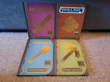 Minecraft The Complete Handbook Collection Updated Edition 4 Books
