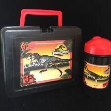 RARE 1992 Jurassic Park Lunch Box & Cup Bluebird Toy