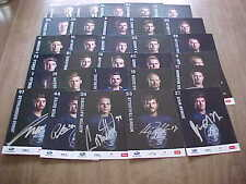 2015-16 ZSC Lions Swiss Hockey League Autographed Team Set with Auston Matthews