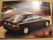 Honda Civic Coupe Car Brochure - 1996 - excellent condition