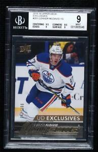 2015 Upper Deck Young Guns UD Exclusives 42/100 Connor McDavid #201 BGS 9 Rookie