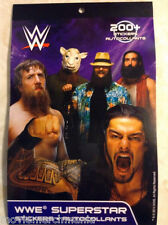 WWE Superstar Sticker Book Official WWE Licensed Product 200+ Stickers Lot
