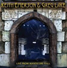 Keith Emerson & Greg Lake - Live From Manticore Hall CD NEW