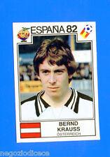SPAGNA ESPANA '82 -Panini-Figurina-Sticker n. 132 - KRAUSS - AUSTRIA -Rec