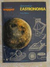 I MANUALI DEL TRAPPER - GLI STRUMENTI PER L'ASTRONOMIA, DI FRANCO POTENZA - 1977