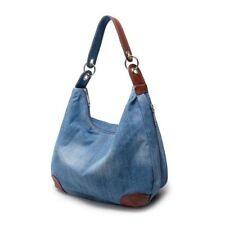 Womens Denim Handbag Vintage Shoulder Bag Tote Purse Lady Messenger Satchel Bag