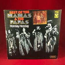 Monday Monday Best Of The Mamas & The Papas 1974 UK Vinyl LP EXCELLENT COND F