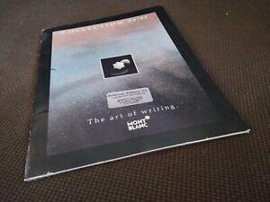 1990/91 Mont Blanc Pen Catalog