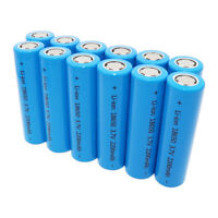 18650 2200mAh 3.7V Li-ion High Drain Battery INR Rechargeable Flat Top for Vape