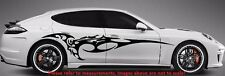 "FURIOUS TRIBAL BLADE SPEED SIDE CAR TRUCK DECAL STICKERS VINYL  (70"" x 14"")"
