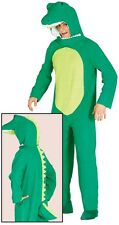 Mens Ladies Crocodile Animal Festival Halloween Fancy Dress Costume Outfit Large