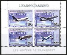 Congo 2006 Aviation Airplanes Airbus Aircraft A-350- 900 Sheet of 4 MNH**