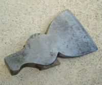 Antique Or Vintage HATCHET Broad Head Axe Style Old Primitive 1.75LBS Tool