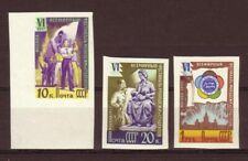 Russia 1957 Variety 6th World Festival Scott 1936-1937, 1940 Mnh Exist Imperf