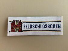 Genuine Beer Patch Feldschloesschen Brewery Germany Feldschlößchen Brauerei New