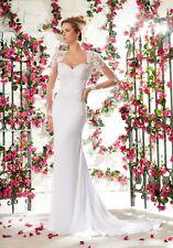 Mori Lee Wedding Dress 6795 Ivory Size 10 New!!