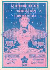 MINT- ORIGINAL / VINTAGE / PSYCHEDELIC / 1971 / MIXED BLOOD - PORTLAND HANDBILL