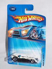 Hot Wheels 2005 Mainline #144 Rocket Oil Special Black & White w/ 5SPs