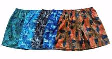"Mens Thai Silk Boxer shorts / Underwear / 28""- 31"" / 5 Sets / Paisley"