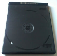 NEW! 5 PK Premium VIVA ELITE Double Discs 4K Ultra HD Black Blu-ray Case Holder