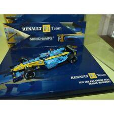 RENAULT R23 2003 TEST CAR F. MONTAGNY MINICHAMPS 1:43 défaut