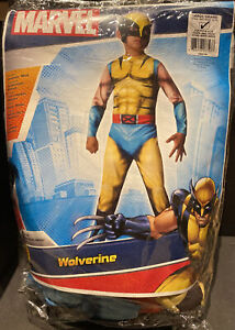Marvel NWT Child's Deluxe Muscle-Chest Wolverine Costume Size Large 12-14