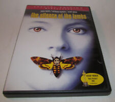 The Silence of the Lambs (DVD, 2001, Widescreen) Foster Hopkins SPECIAL EDITION