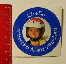 Aufkleber/Sticker: Ich + Du hoffentlich Allianz versichert (14041737)