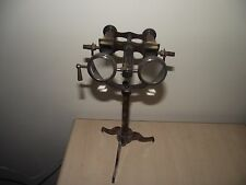 """Antique Brass Binocular with stand 10"""" Unique Collectible ship Instrument Item"""