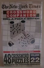 The New York Times Crossword Companion Roll-A-Puzzle Vol 22