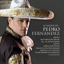 Pedro Fernandez : Lo Mejor De CD