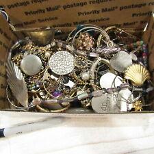 Vintage Junk Drawer Jewelry LOT Craft Broken Repair Harvest #5