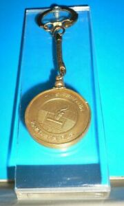 1964 Olympic Games Tokyo ORIGINAL Old Keychain TOKYO 1964 Olympic flame