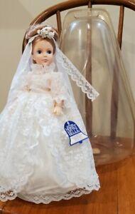 """15"""" Eegee Goldberger Honey Belle Bride Doll Vintage with original bell package"""
