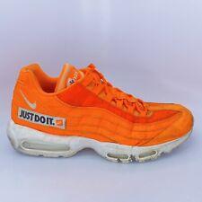 Nike Air Max 95 Just Do It Men's Size 13 Sneakers AV6246-800 Orange Swoosh Logo