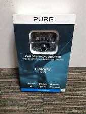 Pure Highway 600 In-car Dab/dab Audio Adapter with Bluetooth FM Transmitter