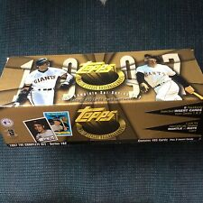 1997 Topps Baseball Card Set with Extra Bonus Cards.  Mint Condition