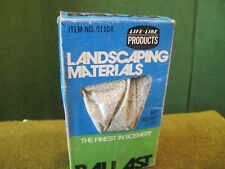 Life-Like Landscaping Materials Ballast Model on original Box