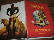 BORIS VALLEJO -- MIRAGE  //  FANTASY ART BOOK 1989 by alpha comic verlag