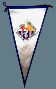 PENYA DEL BARCELONA PENNANT size approx. 25 cm 1960/70 - Spain Football Soccer