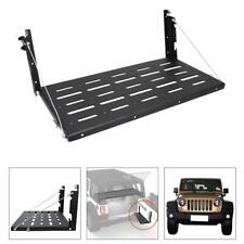 For Jeep Wrangler JK Tailgate Table Heavy Duty Rear Cargo Shelf Foldable Storage