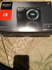 Sony Alpha NEX-7 24.3MP Digital Camera - Black (Body Only)