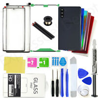 Front Screen Lens Back Glass Replacement Repair Kit for Samsung Galaxy Note 10/+